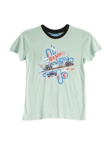 Hot Wheels Hot Wheels Lisanslı Mint Erkek Çocuk T-Shirt Mavi